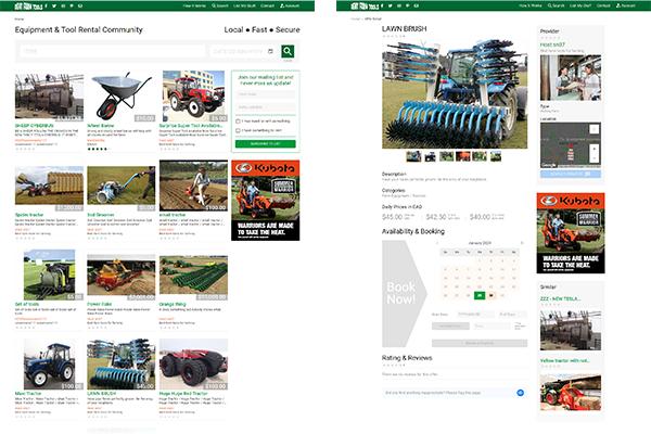 Rent Farm Tools