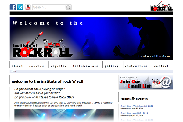 Institute of Rock N Roll