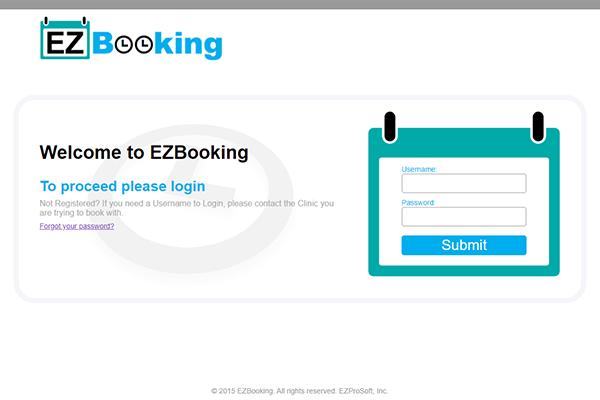 EzBooking